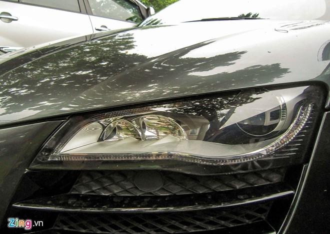 Sieu xe Audi R8 V10 mau la o Sai Gon hinh anh 3