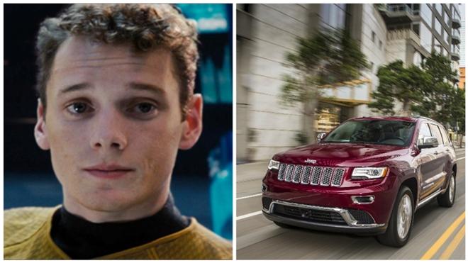 Thang tay xe Jeep giet chet dien vien Star Trek? hinh anh 1