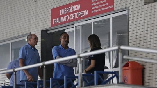 Vụ đọ súng diễn ra ở bệnh viện Souza Aguiar. Ảnh: AP