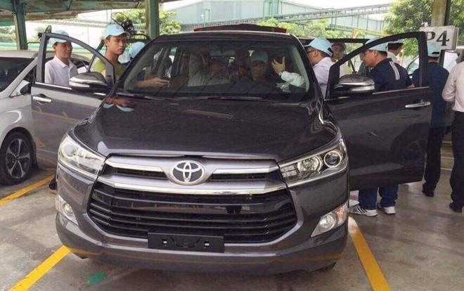Toyota Innova the he moi dau tien ve Viet Nam hinh anh 1