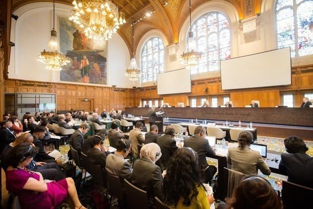 Tòa PCA tổ chức phiên điều trần ở Hà Lan để nghe Philippines giải trình quanh vụ kiện Trung Quốc từ ngày 7-13/7/2015. (Ảnh: PCA)