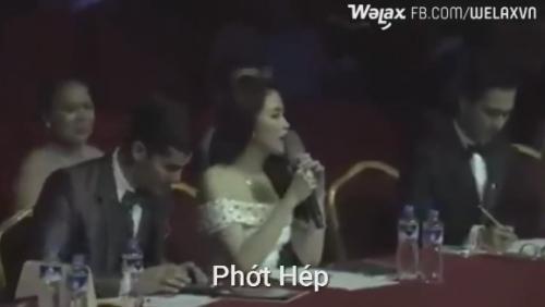 Hoa hậu Thu Vũ lên tiếng về việc nói tiếng Anh quá dở - Ảnh 1