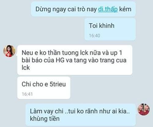 Hương Giang Idol chui lam chi khanh - 3