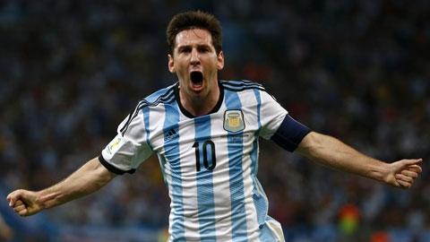 Messi xô đổ kỷ lục ghi bàn của Batistuta