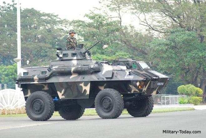 Ngạc nhiên trước những mẫu xe bọc thép nội địa của Philippines - Ảnh 2.