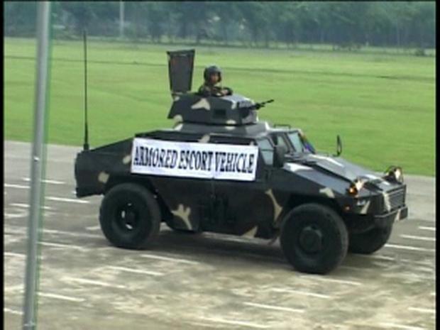 Ngạc nhiên trước những mẫu xe bọc thép nội địa của Philippines - Ảnh 5.