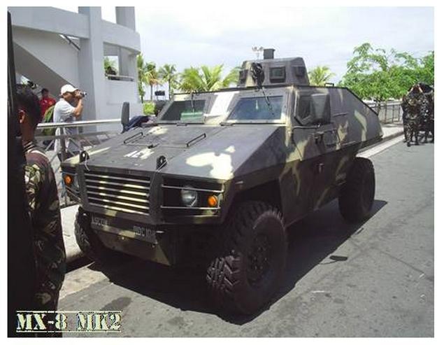 Ngạc nhiên trước những mẫu xe bọc thép nội địa của Philippines - Ảnh 6.