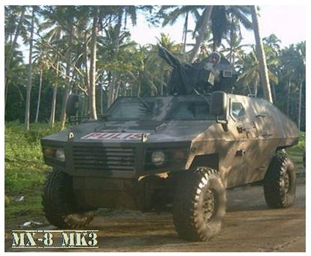 Ngạc nhiên trước những mẫu xe bọc thép nội địa của Philippines - Ảnh 7.