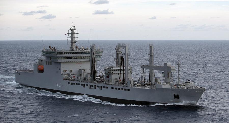 Tàu chiến của Hải quân Ấn Độ. (Ảnh: Wikipedia)