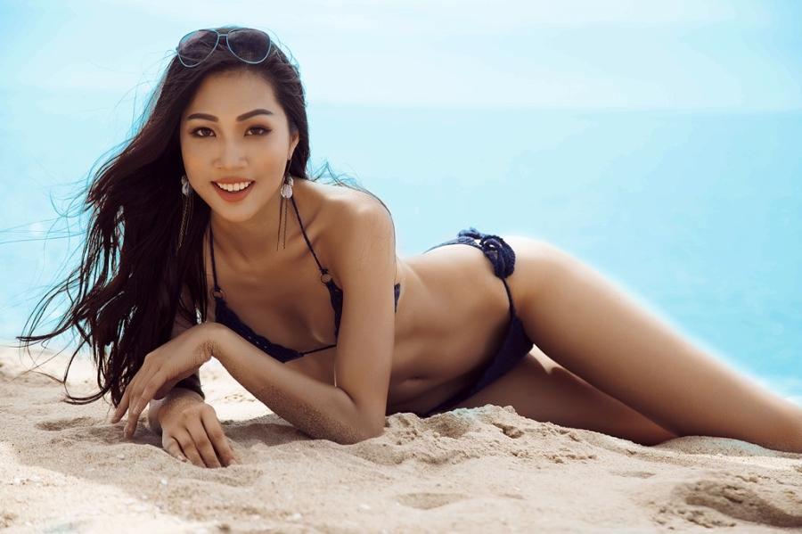 Ve nong bong cua nguoi dep Viet se thi Hoa hau The gioi 2016 hinh anh 3