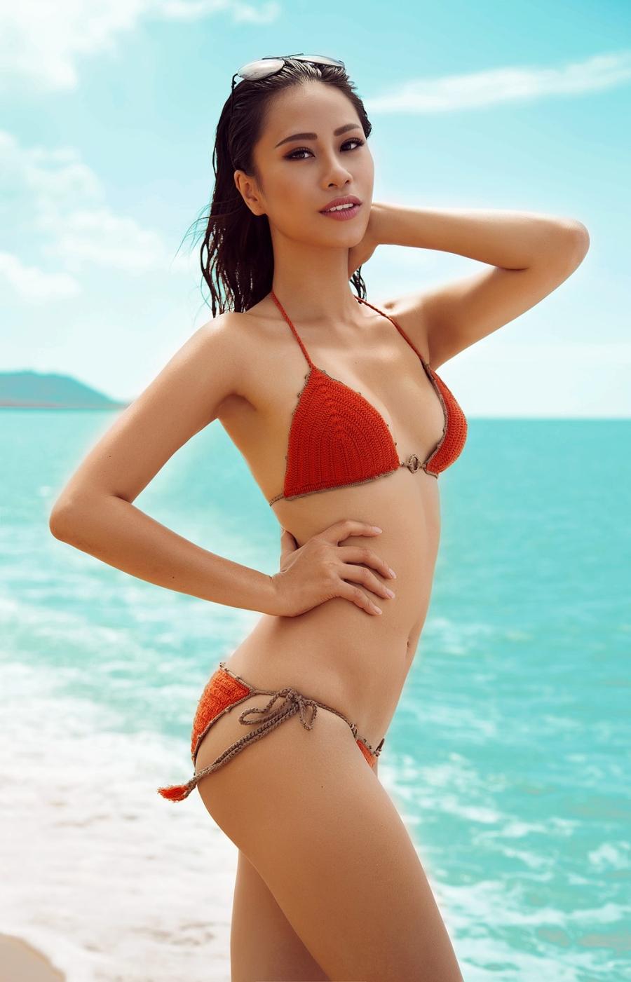Ve nong bong cua nguoi dep Viet se thi Hoa hau The gioi 2016 hinh anh 6