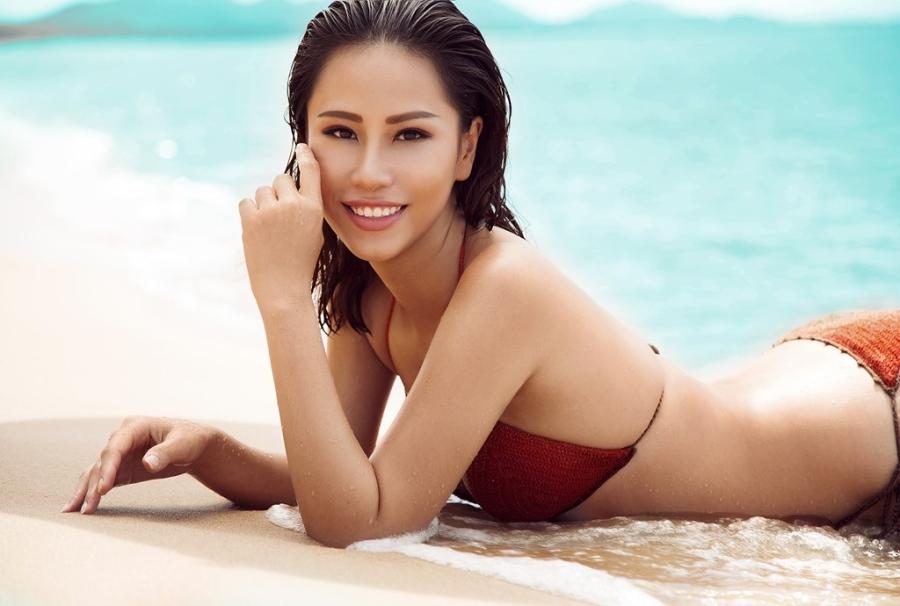 Ve nong bong cua nguoi dep Viet se thi Hoa hau The gioi 2016 hinh anh 8
