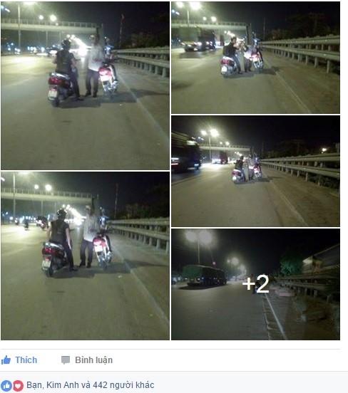 Xúc động hình ảnh cô gái mua xăng giúp cụ ông giữa đường - Ảnh 1