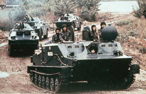 Belarus moi Viet Nam nang cap xe BTR-50