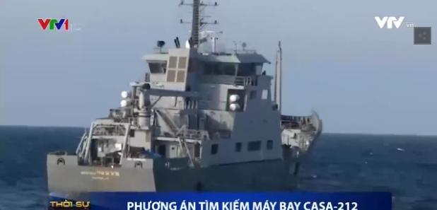 Clip: Toàn cảnh cuộc tìm kiếm máy bay Casa-212 quy mô lớn trong ngày 22/6 - Ảnh 2.
