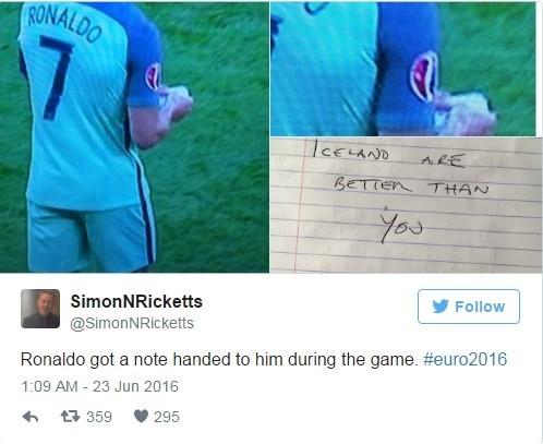 Fan 'che' noi dung manh giay bi an Ronaldo nhan tu HLV hinh anh 3