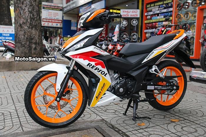 Honda Winner độ tem phong cách MotoGP đầu tiên tại Việt Nam - ảnh 1
