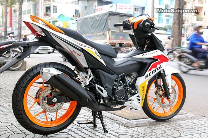 Honda Winner độ tem phong cách MotoGP đầu tiên tại Việt Nam - ảnh 3