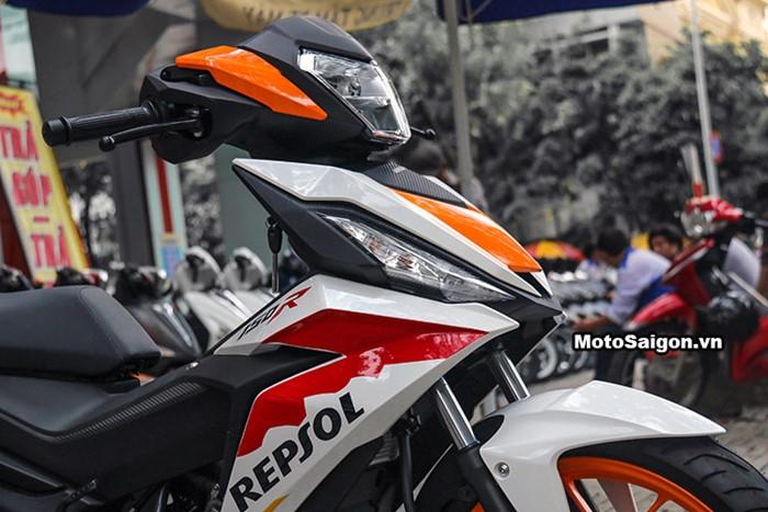 Honda Winner độ tem phong cách MotoGP đầu tiên tại Việt Nam - ảnh 6