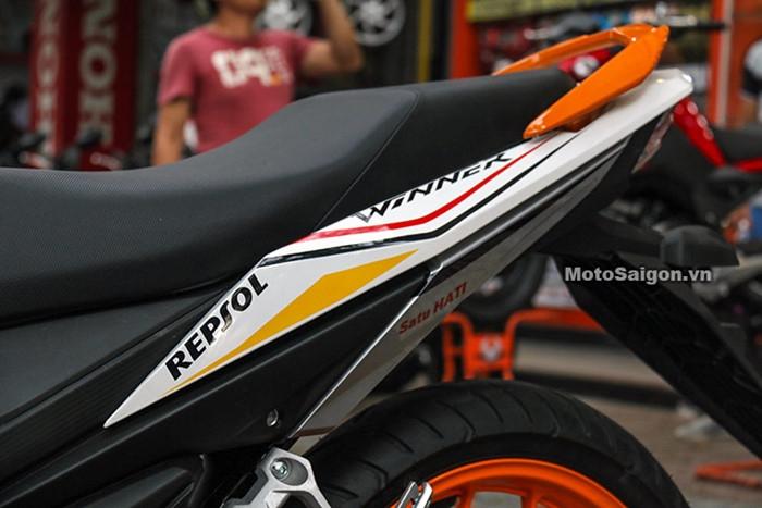 Honda Winner độ tem phong cách MotoGP đầu tiên tại Việt Nam - ảnh 8