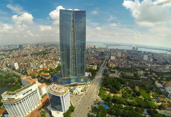 Lotte Hà Nội, tòa nhà cao thứ 2 Việt Nam với những lùm xùm từ ngày khai trương. Ảnh: Anh Tuấn