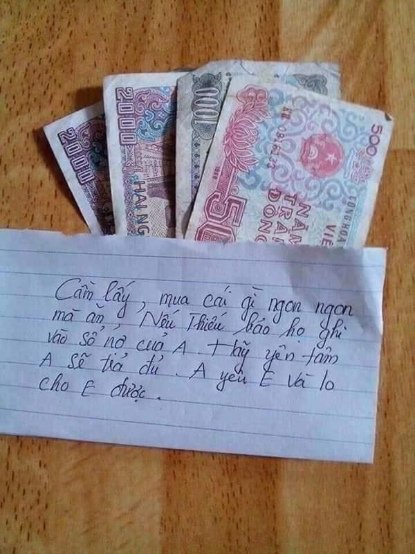 tiền ăn sáng