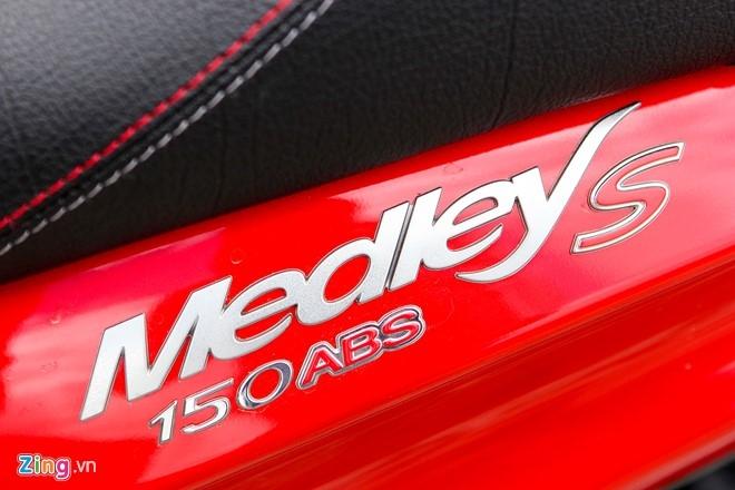 Piaggio Viet Nam ra mat Medley S 150 gia 86 trieu dong hinh anh 2