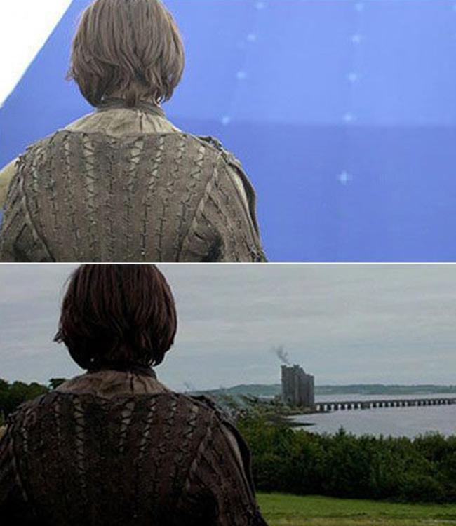 Các cảnh phim 'Game of Thrones' trước và sau xử lý kỹ xảo
