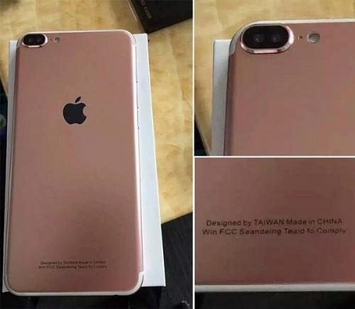 Một mẫu điện thoại có thiết kế giống với hình ảnh rò rỉ về iPhone 7.