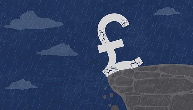 Bảng Anh chạm đáy 31 năm khi nước Anh chọn Brexit /// Shutterstock
