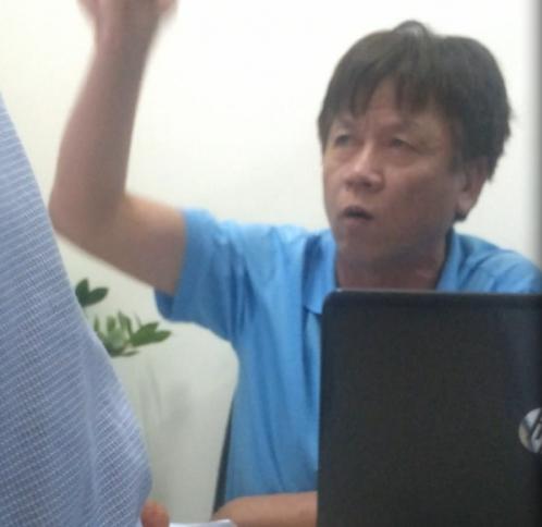 Ông Nguyễn Công Tảo dọa nạt PV: 'Người này là ông trời con' - Ảnh 1