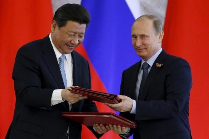 Ông Putin khen ông Tập Cận Bình là người bạn tốt /// Reuters