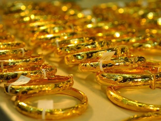Giá vàng tăng hơn 1,3 triệu đồng mỗi lượng chỉ trong buổi sáng. Ảnh minh họa