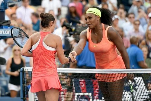 Serena từng thua trận bán kết Mỹ mở rộng 2015 trước Vinci