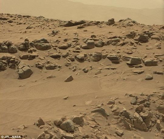 Bức ảnh gốc của NASA đăng tải trước đó