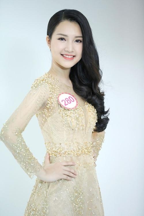 Nhan sắc ba người đẹp Huế tại chung kết Hoa hậu Việt Nam
