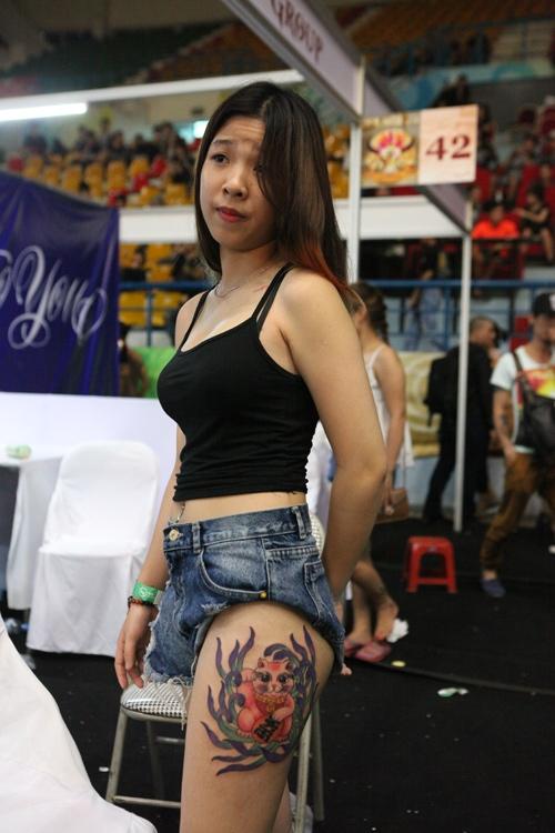 Soóc ngắn sexy ngập tràn lễ hội xăm mình ở Hà Nội - 10