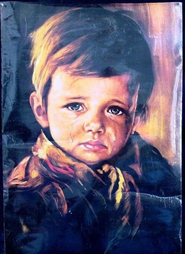 trẻ em khóc