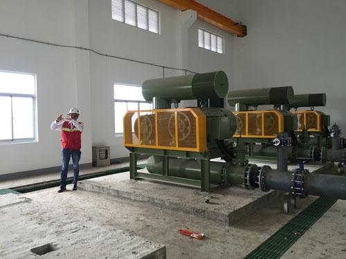 Thiết bị bên trong nhà máy được giới thiệu là nhập từ châu Âu Ảnh: Ca Linh