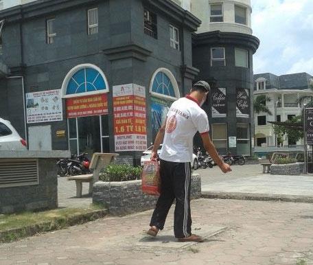 tật nguyền, ước mơ con chữ, thanh niên, chàng trai tật nguyền, khu đô thị Nam Cường