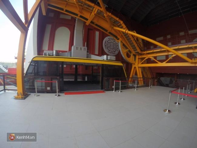 Cận cảnh cáp treo mới với cabin có sức chứa 230 người tại Quảng Ninh - Ảnh 12.