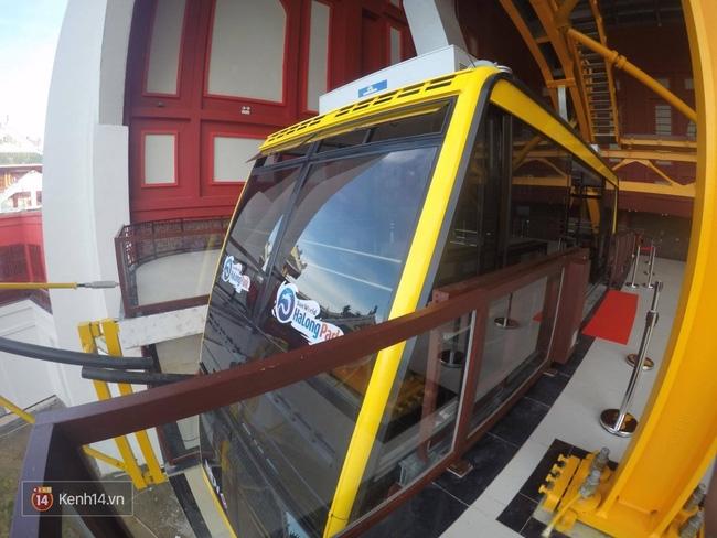 Cận cảnh cáp treo mới với cabin có sức chứa 230 người tại Quảng Ninh - Ảnh 15.