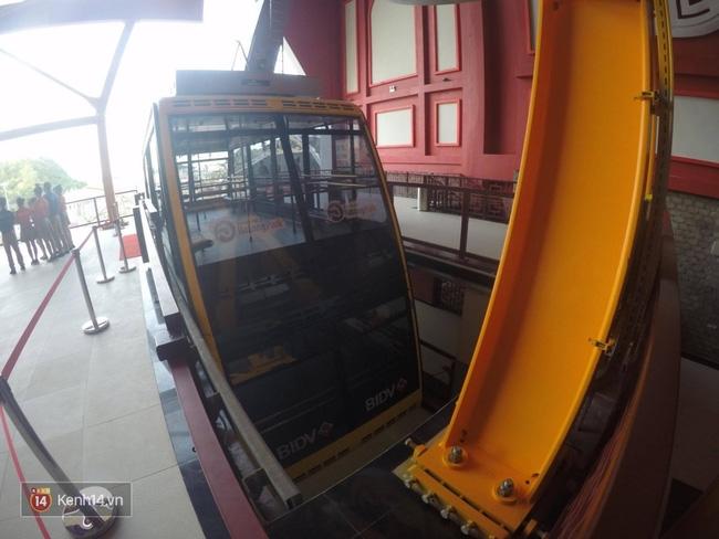 Cận cảnh cáp treo mới với cabin có sức chứa 230 người tại Quảng Ninh - Ảnh 16.