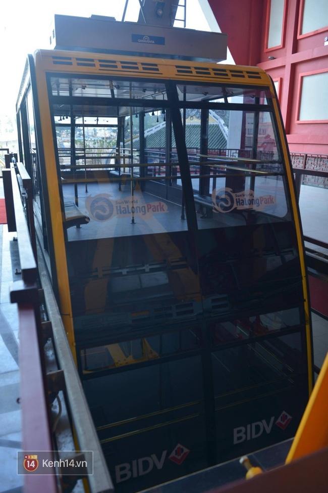 Cận cảnh cáp treo mới với cabin có sức chứa 230 người tại Quảng Ninh - Ảnh 17.