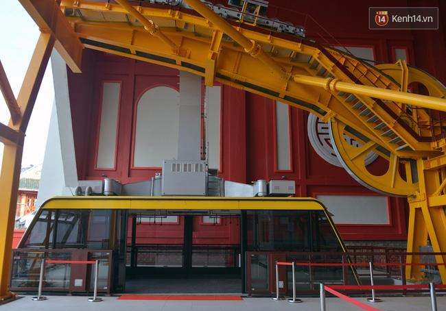 Cận cảnh cáp treo mới với cabin có sức chứa 230 người tại Quảng Ninh - Ảnh 18.