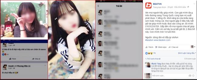 Đăng status giả vờ đi Trung Quốc, hai cô gái trẻ hứng gạch đá vì sống ảo - Ảnh 1.