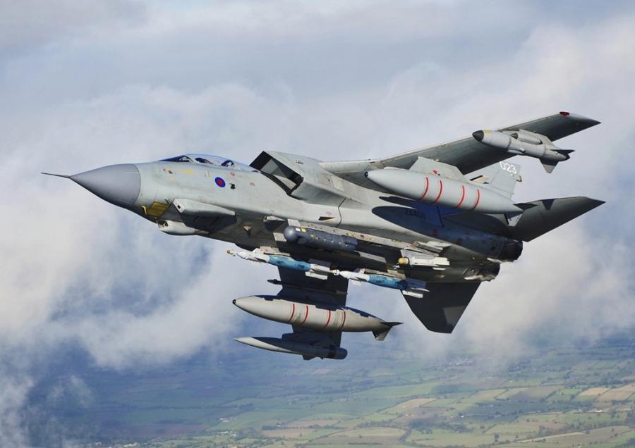 Cường kích Tornado của Không quân Hoàng gia Anh. Ảnh: RAF