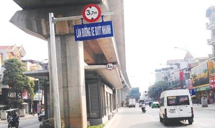 Với thực trạng giao thông hiện nay, việc đưa dự án BRT vào hoạt động, giao thông đứng trước nguy cơ tắc nghẽn nghiêm trọng hơn. Ảnh: Như Ý.
