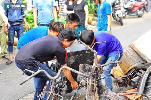 Hiện trường vụ hỏa hoạn khiến 4 người trong gia đình thiệt mạng - Ảnh 9.