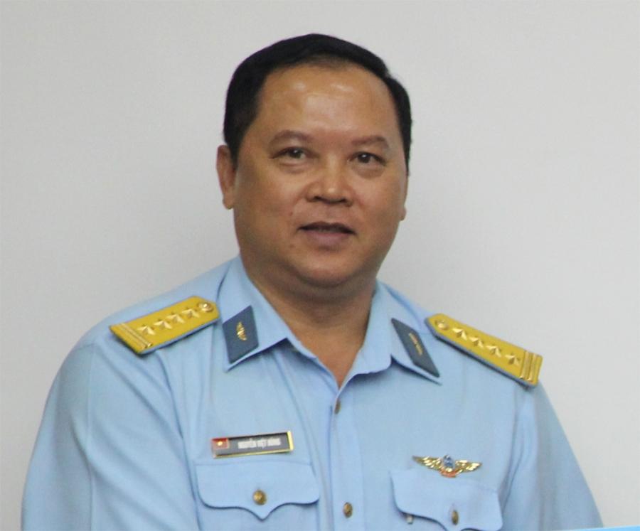 Đại tá Nguyễn Việt Hùng (ảnh: Nguyễn Dương)